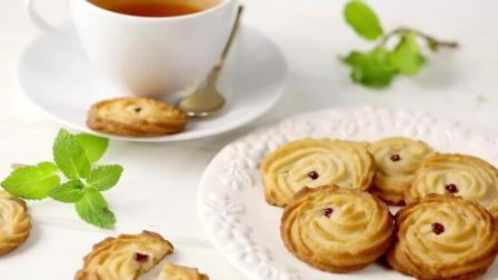 美味甜品, 教你做香甜的玫瑰奶酥饼干