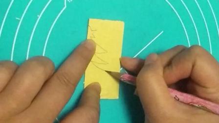 幼儿手工圣诞树剪纸视频教学