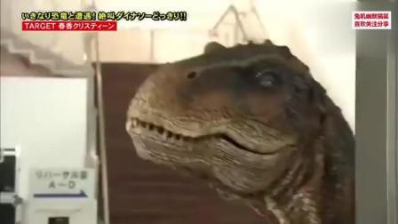 国外作死恶搞整蛊视频集锦, 恶搞 恐龙来袭