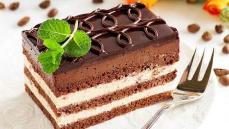 做慕斯也太简单了吧! 1分钟, 你就能学会, 蛋糕还非常高大上好吃呢!