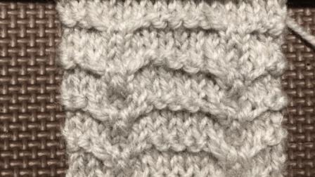 海鸥针的织法