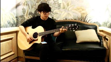 吉他弹唱李荣浩(模特), 深夜一角!