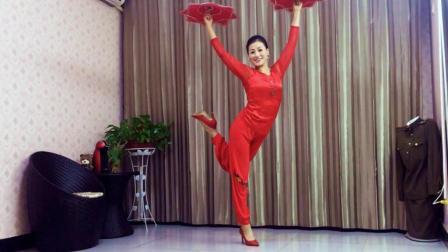 喜庆练习版《吉祥中国年》青青世界广场舞