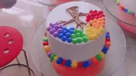 生日蛋糕做法_生日蛋糕成品_裱花蛋糕教程