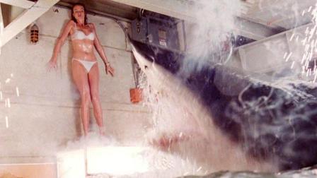美女博士培育出高智商鲨鱼 6分钟看完科幻电影《深海狂鲨》