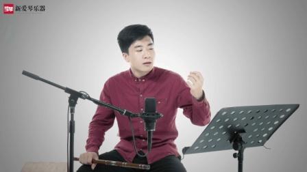 新爱琴从零开始学竹笛公益课程第五十九课  考级篇  《卖菜》讲解(五)