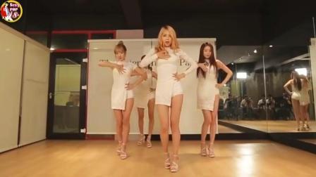 [热] 韩国女团STELLAR _ 떨려요 白色连衣裙-练习室高清