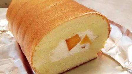 经典甜品: 松软小四卷的制作
