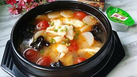 小鲁教你学煲汤之山药炖脆骨汤的做法, 补钙好汤, 给孩子炖一碗, 促进骨骼发育