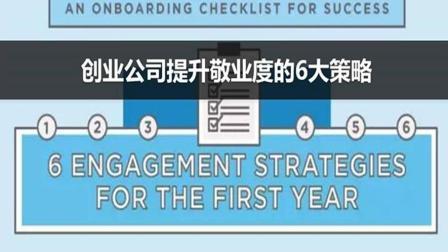 创业公司提升员工敬业度的6大策略
