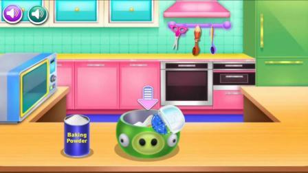 动漫卡通宠物蛋糕小制作游戏视频健康动脑益智系列