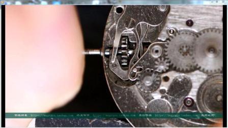 超清实拍手表离合器