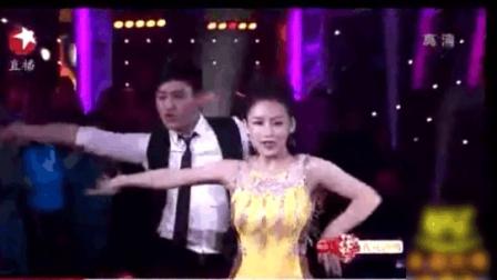 潘晓婷第一次参加综艺比赛节目跳舞表演, 老爸亲自助阵