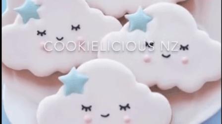 云朵糖霜饼干的制作过程~精选instagram甜品, 赶紧get吧!