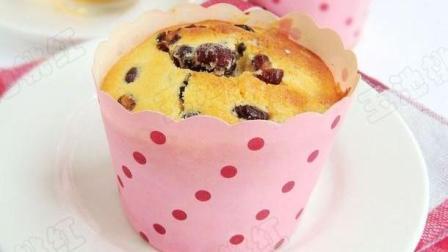 蜜豆小蛋糕, 做法非常简单, 新手一看就会! 自己做无添加吃的安全又放心!