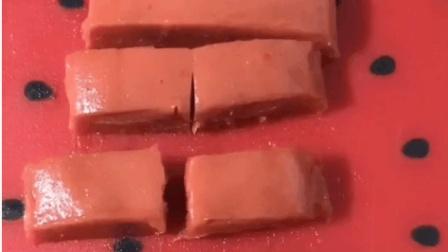 家庭自制小零食, 17秒教你做山楂糕, 比外面还放心好吃