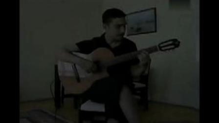 天空之城吉他演奏 国外牛人! 久石让天空之城完美独奏 指弹吉他