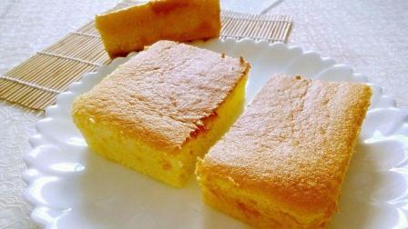 小鲁教你做糕点之简单海绵蛋糕制作, 最基础的做法, 简单易学