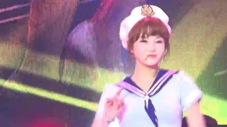 T-ARA《sexy love》音乐现场, 这个水手服真是犯规了, 长得好看就是任性!
