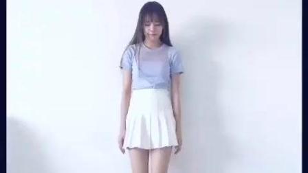 好喜欢 漂亮白裙女孩清纯翻跳Apink-mr.chu