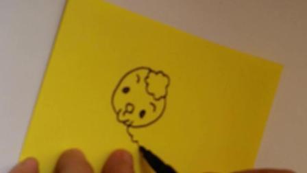 动物简笔画之小绵羊简笔画