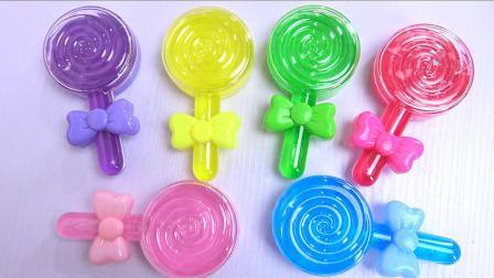 奇奇和悦悦的玩具 2017 棒棒糖水晶泥奇趣蛋玩具 301