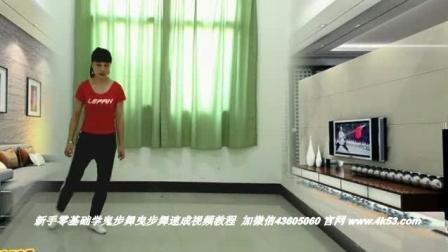 云南省大理白族自治州永平县广场舞鬼步舞 3人对跳 86岁可以学鬼步舞