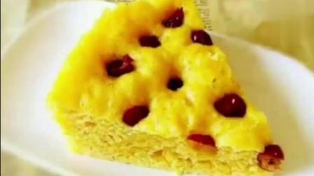 烫面玉米发糕, 简单易做零失败, 超好吃, 比蛋糕还好吃!