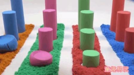 【创意玩具】培乐多黏土DIY瓢虫 彩色太空沙魔力沙视频
