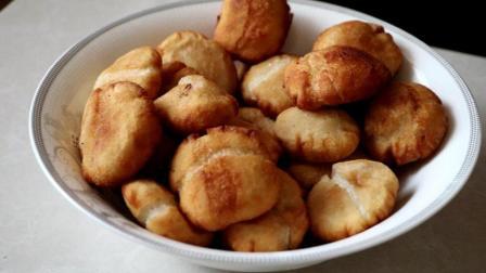 糯米粉最好吃的做法, 一捏一煎, 吃一次就会上瘾