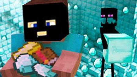 大海解说 我的世界Minecraft 僵尸钻石银行大盗