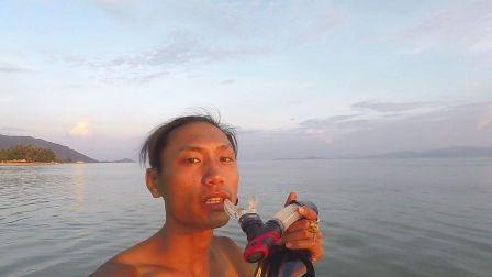 Wing哥海边浮潜镜使用教学 1000