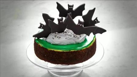 蝙蝠造型巧克力薄荷起司蛋糕, 孩子们的最爱