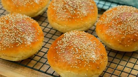 又香又嫩的烤面包, 原来在家也可以做, 简单易学, 味道好极了