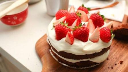 吃货最爱, 不用烤箱也能做出好吃的草莓巧克力蛋糕, 美得心都化了