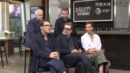 《至暗时刻》主创接受《Variety Studio》的采访片段