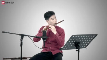 新爱琴从零开始学竹笛公益课《康定情歌》曲目演示