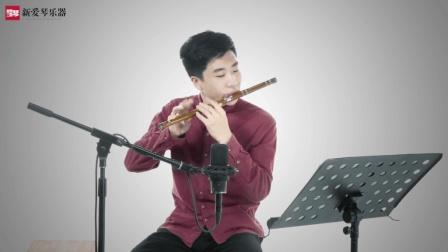 新爱琴从零开始学竹笛公益课程第六十课  考级篇  《欢乐歌》讲解
