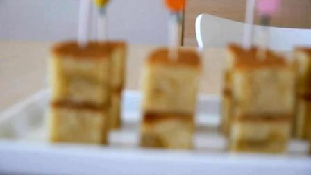 可爱俏皮的栗子小蛋糕-的做法之『舌尖上的美食』节目