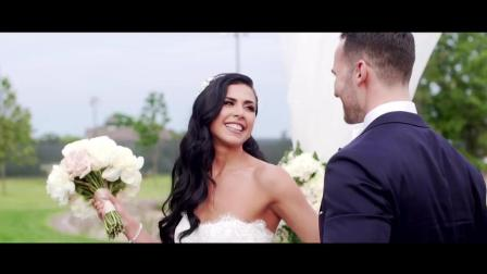 Melissa and Eric Cinematic Wedding Film at the Inn on Longshore in Westport, CT