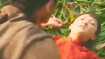 红高粱周迅朱亚文高粱地这段演技炸裂, 最后她爹的一句话暴露了
