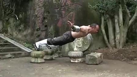 中华深山藏高手, 自然门大师精彩上桩功, 这功夫比金钟罩还梦幻!
