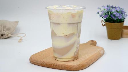 奶茶制作培训奶茶制作配方——蛋糕布蕾奶茶的做法