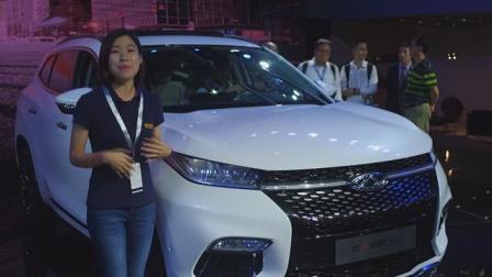 奇瑞全新高端SUV 2017广州车展EXEED TX