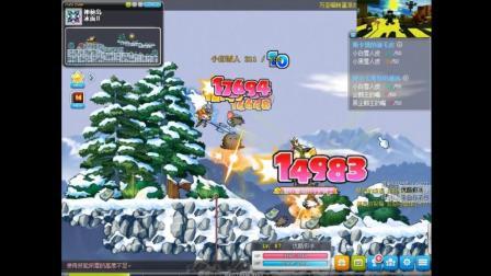 〔极冰〕双弩精灵 日常刷任务VII 冒险岛★MapleStory