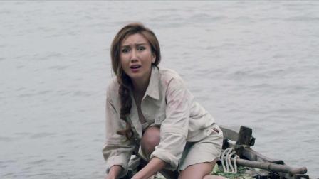 3分钟看完国产恐怖片《食人岛》, 真实拍摄场景把演员都吓到了