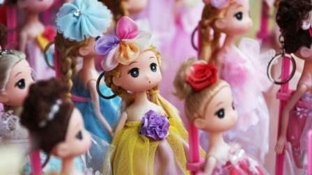 芭比娃娃 做美甲 早教 游戏 玩具视频