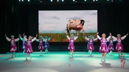来自大草原的民族舞蹈《呼伦贝尔大草原》