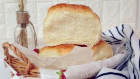 用蜂蜜牛奶做的面包, 超柔软, 看了都会流口水!
