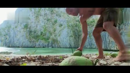 德爷在无人荒岛艰难求生, 废弃的钉子和酒瓶竟给他带来了惊喜!